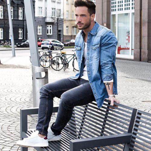 Inspiração: Jaqueta Jeans:
