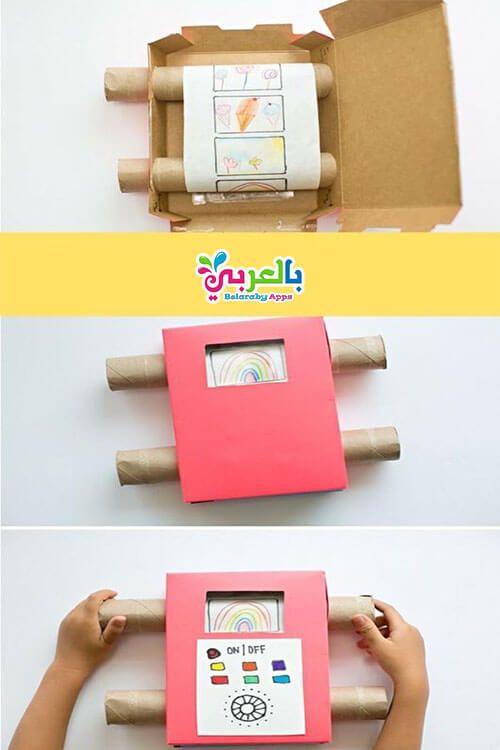 اصنعي بنفسك 10 العاب منتسوري لطفلك باستخدام رول المناديل والكرتون بالعربي نتعلم Diy For Kids Diy Recycle Diy Kid Fun