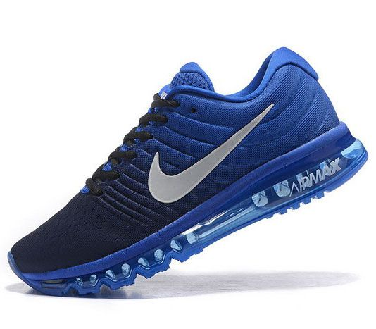 Nike Air Max 2017 Men 2019 Nike Running Cheap Shoes Blue Red