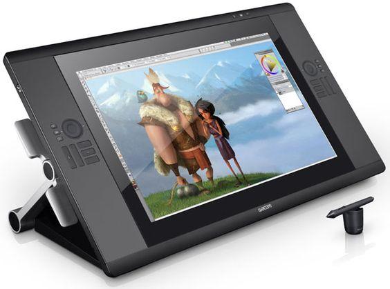 Wacom presenta el Cintiq 24HD touch, con controles multitáctiles babaaaaaaa