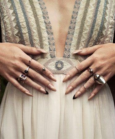 Mara Hoffman All Seeing Bridal Gown detail #Bonadrag