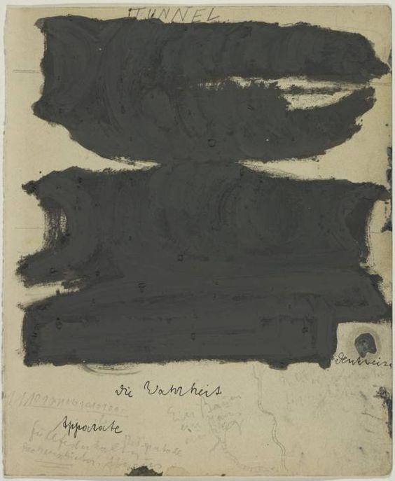 "idhangthatonmywall: "" Joseph Beuys (1921-1986), Tunnel (Cathode Ray) Felt Room Action, 1964, Tate Gallery, London. """