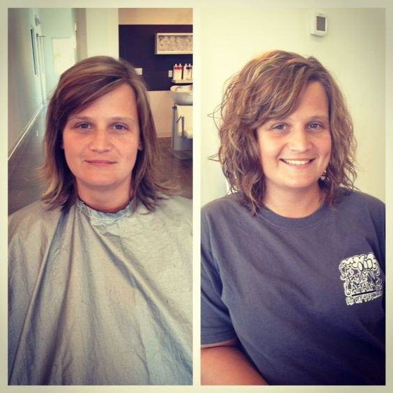 Image Result For Body Wave Perm Thin Hair Wave Perm Short Hair Body Wave Perm Permed Hairstyles
