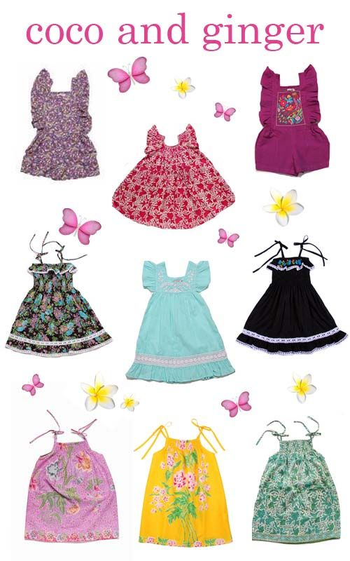 Coco and Ginger Children's clothes.