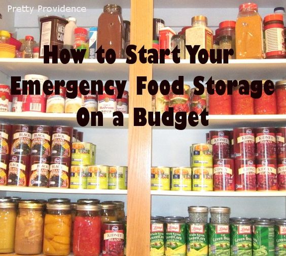 How to Start Your Emergency Food Storage On a Budget - MilitaryAvenue.com