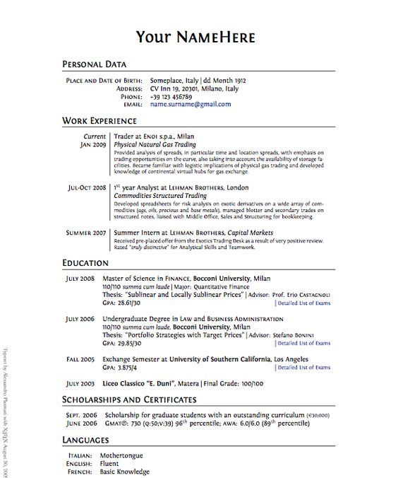 how to write a work resume a resume is a summary of your - How To Write A Resume For Work