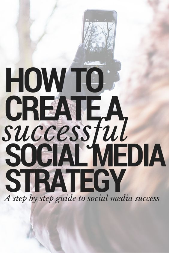 how to develop a social media marketing strategy that works