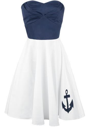 Anchor Dress - Medium-lengte jurk van Dolly and Dotty