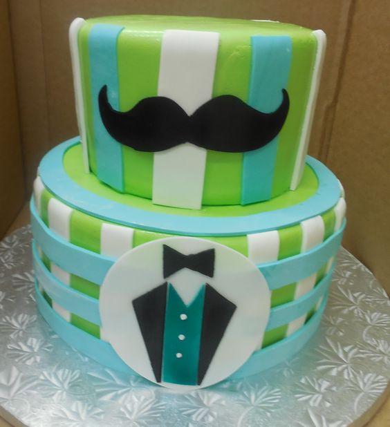 Baby Shower Mustache Theme: Mustache Theme, Boy Baby Shower Cakes And Shower Cakes On