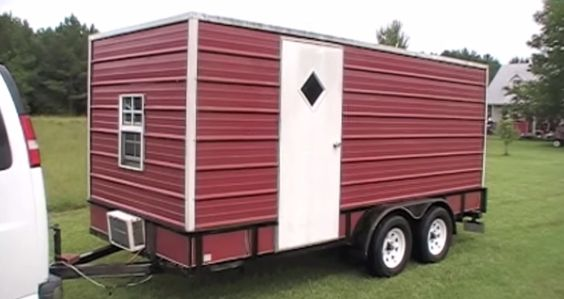 Yes, You Can Make a Utility Trailer Camper to Sleep Your 8 Kids. Wow, It's Even Got a Bunk Bed. - http://www.doityourselfrv.com/yes-can-make-utility-trailer-camper-sleep-8-kids-wow-even-got-bunk-bed/