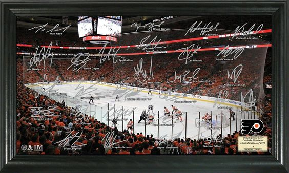 AAA Sports Memorabilia LLC - Philadelphia Flyers Signature Rink, #flyers #philadelphiaflyers #nhl #nhlcollectibles #sportscollectibles $49.99 (http://www.aaasportsmemorabilia.com/nhl/philadelphia-flyers-signature-rink/)