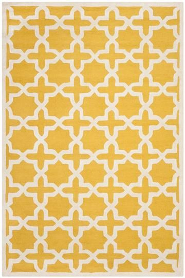 Cheshire Rug in Marigold: 8'x10' $383 on sale