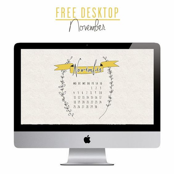 *ann.meer: Free November Desktop!