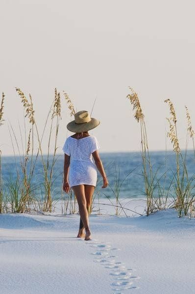 A walk on the beach restores the soul