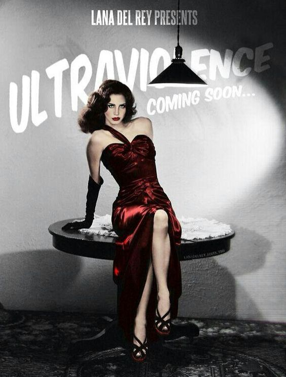 Lana Del Rey #LDR #Ultraviolence #FanMade
