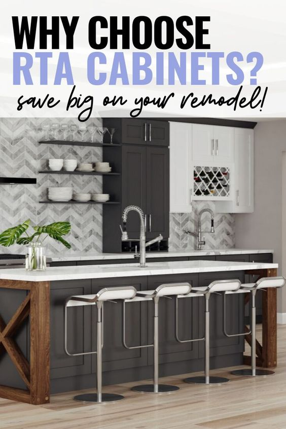 RTA (ready to assemble) cabinets are increasing in popularity due to their low price point and convenience. Learn if RTA cabinets are the right choice for your kitchen in our latest blog! ....................... Kitchens   Shaker   White   Dishes   Bathroom   Photo Galleries   Office   Best