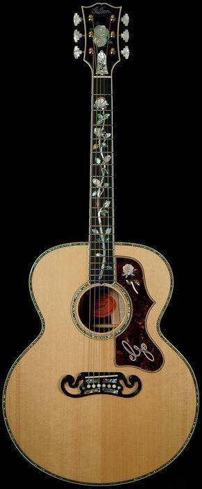 Limited Edition Sj 200 Gallery Edition Super Jumbo Gibson Guitars Acoustics Wildwood Vintage Guitars Acoustic Vintage Guitars Vintage Guitars For Sale