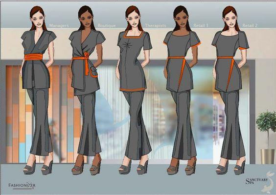Fashionizer design board sanctuary bespoke spa uniforms for Uniform spa malaysia