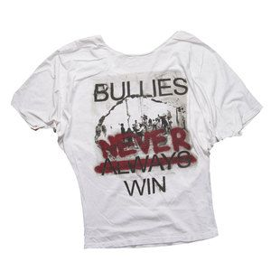 Bullies Never Win Blouse now featured on Fab.
