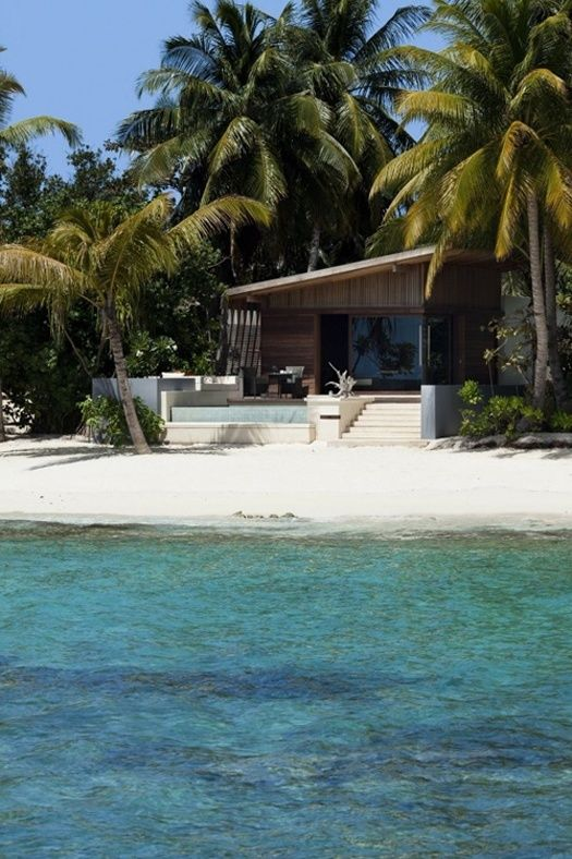 Luxury island living in the Maldives