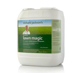 Richard Jackson S Lawn Magic 5 Litre Grass Feed Qvc Uk Grass