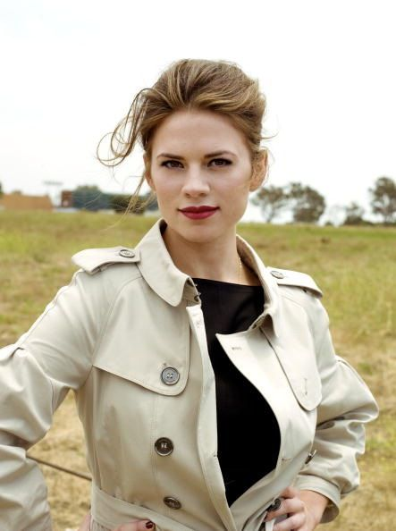 Hayley Atwell (Peggy Carter in Captain America)