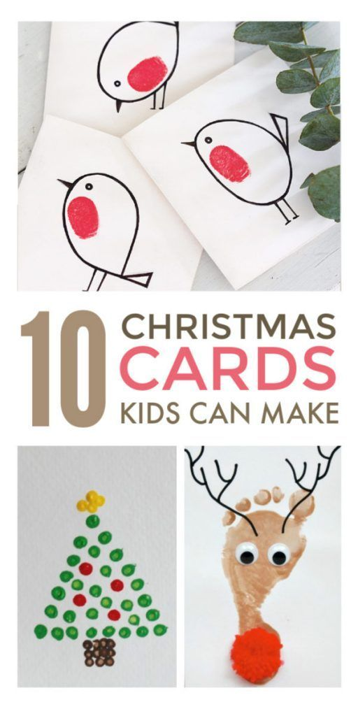 Simple Christmas Cards Kids Can Make Christmas Cards Kids Christmas Cards Handmade Kids Christmas Cards Handmade