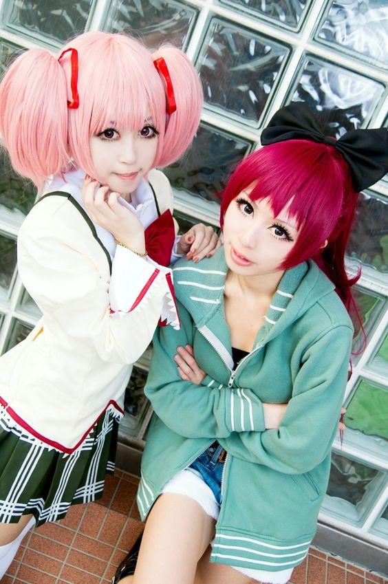 momolin(紫玥 桃) Kyoko Sakura Cosplay Photo - WorldCosplay