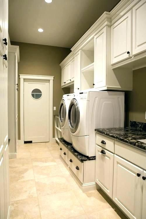 Google Image Result For Http Cricshots Co Wp Content Uploads 2018 06 Washer And Dryer Pe Laundry Room Design Custom Laundry Room Laundry Room Storage Shelves