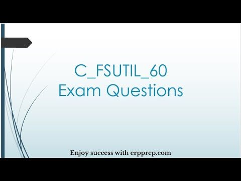Sap Is Utilities C Fsutil 60 Exam Guide And Questions Answers In 2020 Exam Guide Exam This Or That Questions