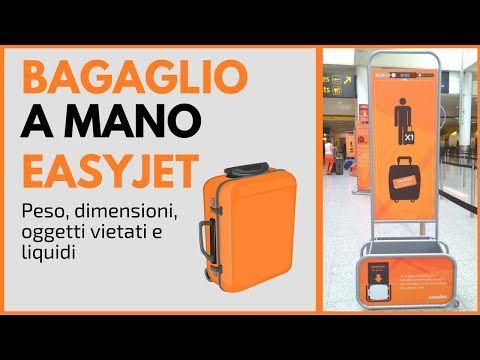 Bagaglio a Mano Easyjet: misure, dimensioni e peso