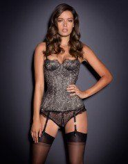Luxury Metallic Lingerie from Agent Provocateur