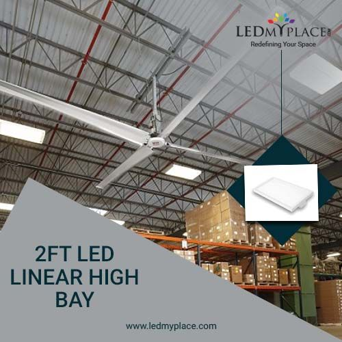 2ft Led Linear High Bay 165w 5000k High Bay Lighting Led High Bay Lights