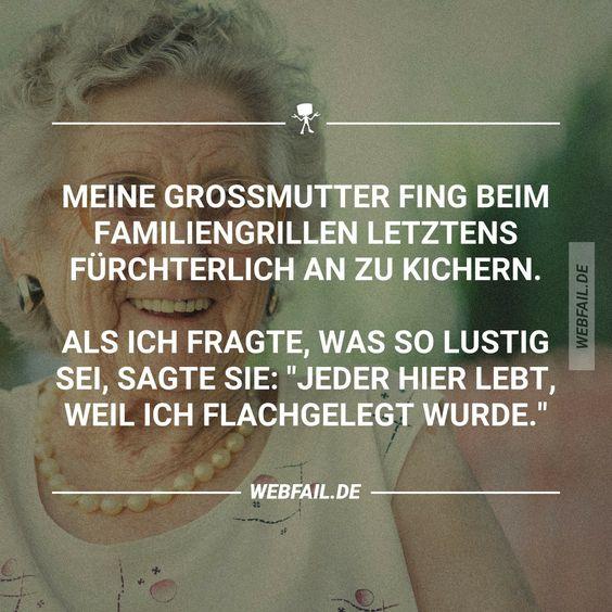 Meine Großmutter...