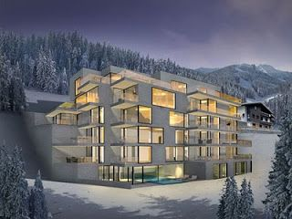 Modern House Alpine Architecture