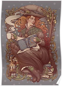 NOUVEAU FOLK WITCH Poster