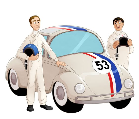 You wanna know the secret of the little car? by Zimeta.deviantart.com on @deviantART.AWWWW this is the best herbie fanart I've ever seen! actually I think it's the only herbie fan art I've ever seen....