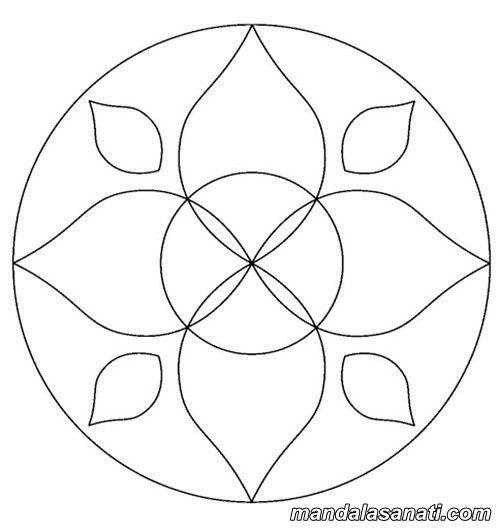 Kolay Mandala Ornekleri Yeni Baslayanlar Icin Mandala Cizim