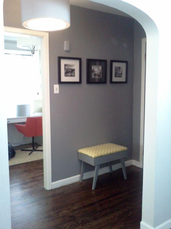 my downtairs hallway