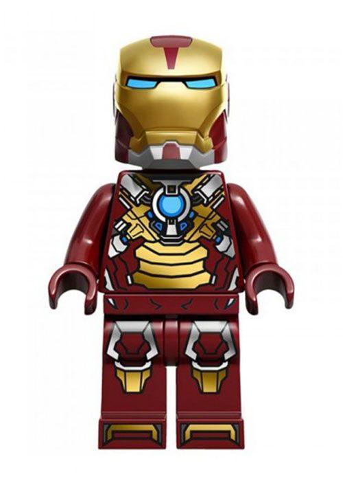 Lego Minifig Marvel Avengers Superheroes IRON MAN Minifigure Heart Breaker