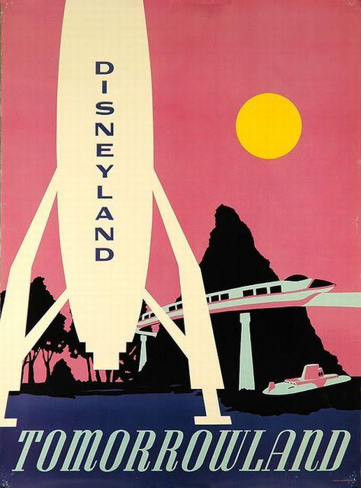 vintage disney posters - I REALLY WANNA GO TO DISNEYLAND
