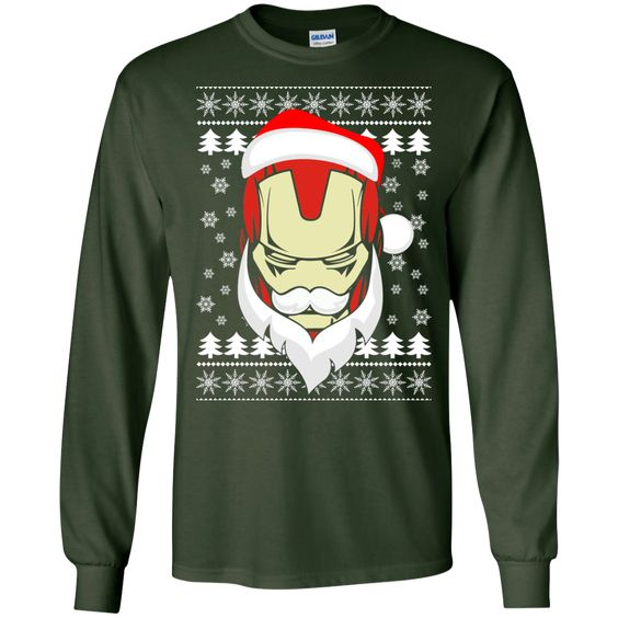 Iron-Santa - Ugly Sweater LIMITED EDITION