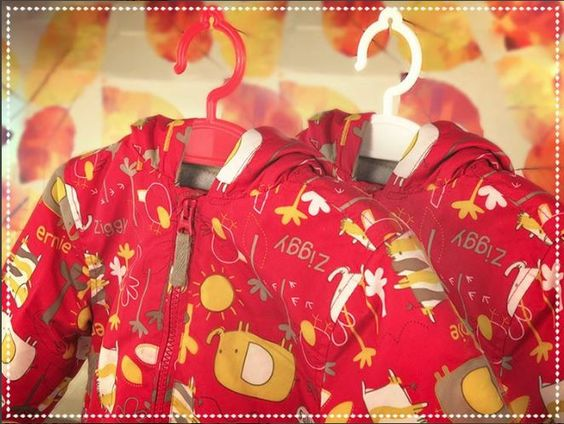 These hangers fit the Autumn theme nicely! Why not pick some up for your kiddies? www.hangerworld.com Available in red and white.