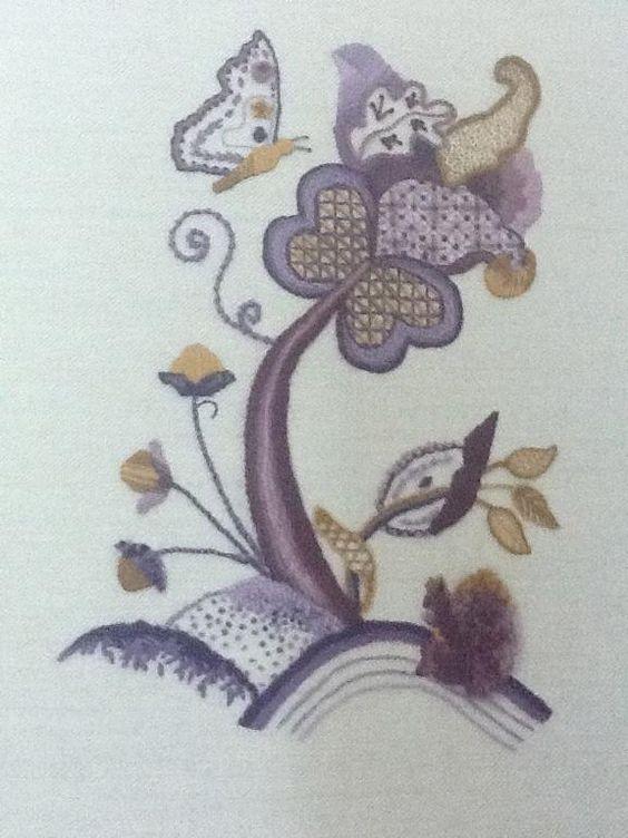 Jacobean Embroidery_e_0vfh - via @Craftsy