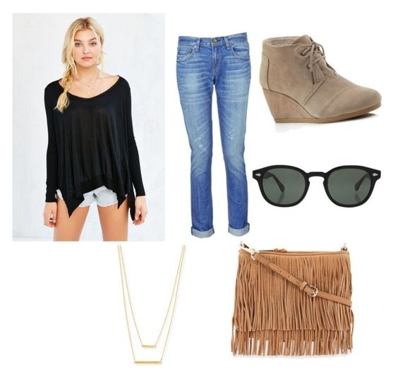 """""""hipster"""" by shankmia on Polyvore featuring Project Social T, rag & bone, TOMS, Moscot, Jennifer Zeuner and Rebecca Minkoff"""