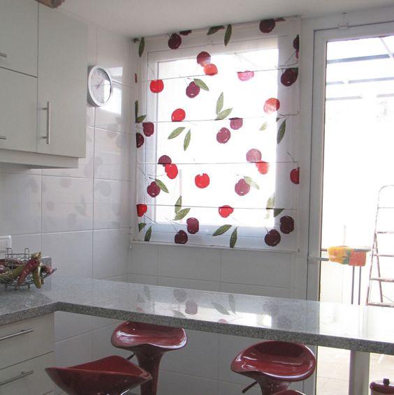 Dise os especiales para cocinas decoraci n cortinas - Disenos de cortinas para cocina ...