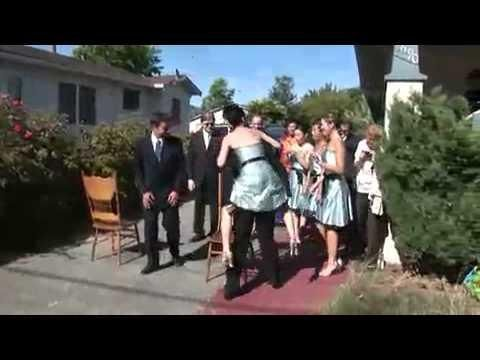 Bridesmaid Meets The Ground
