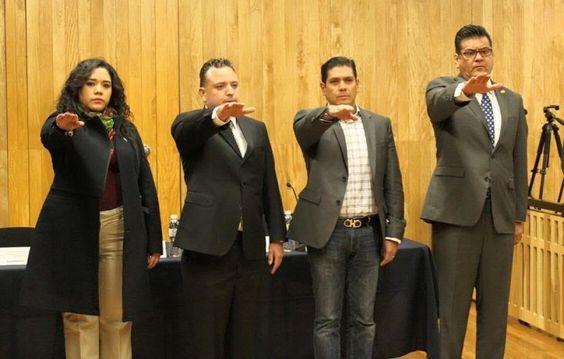 El coordinador del PVEM en el Congreso del Estado tomó protesta como integrante del Consejo Implementador del Nuevo Sistema de Justicia Penal en Michoacán, nombramiento que le permitirá apoyar en ...