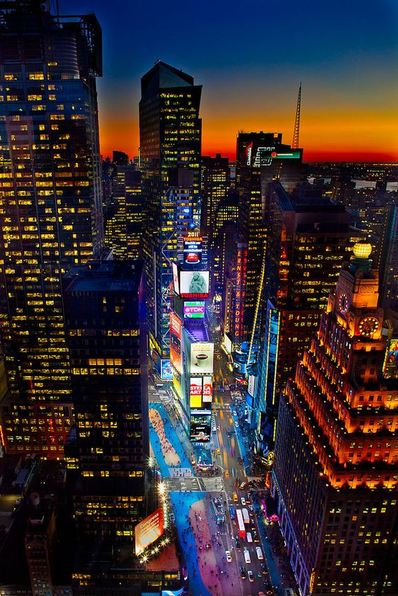 #1TS_1784-5 | #1Times Square from above looking North at Sun… | Flickr