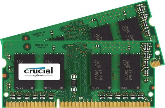 Amazon.com: Crucial 16GB Kit (8GBx2) DDR3-1600 MT/s (PC3-12800) 204-Pin SODIMM Notebook Memory CT2KIT102464BF160B / CT2CP102464BF160B: Computers & Accessories